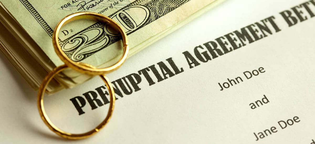 Pre Post Nuptial Agreement Lawyer Montgomery And Howard County Md
